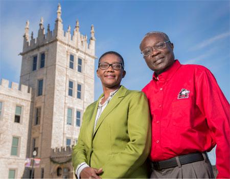 Teresa Wasonga and Andrew Otieno