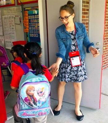 Abby Spankroy, Elementary Education major