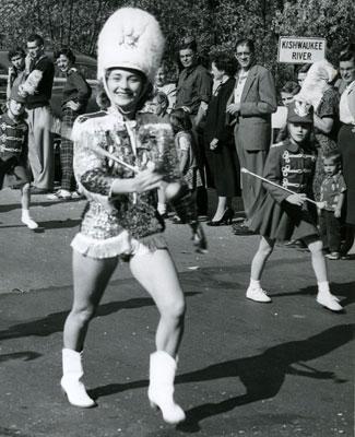 NIU Homecoming Parade, 1957