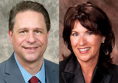 David Walker and Cynthia Campbell