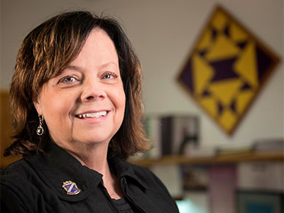 Lynn Gibson received her M.S.Ed. in Educational Administration from NIU in 1992. The recently retired superintendent of the Hononegah School District is now teaching a Principal Prep course at NIU as a visiting assistant professor.
