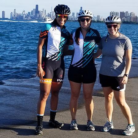 Kaya Cattouse, Jenn Jacobs and Karisa Fuerniss.