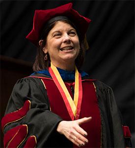 NIU President Lisa Freeman