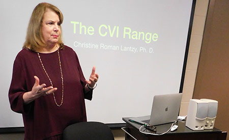 Christine Roman Lantzy teaches in Gabel Hall.