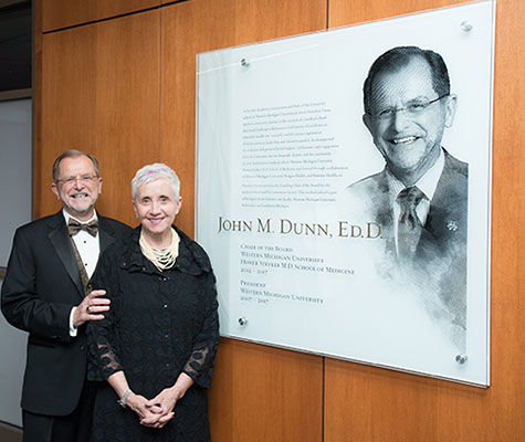 John Dunn and his wife, Linda. Photo credit: WMed