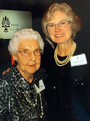Joan Popp and Linda Conrad