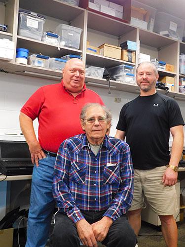 Dan Hyde, George Babos and James Kunkel