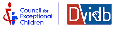 Logo of the Council for Exceptional Children's Division on Visual Impairment and Deafblindness