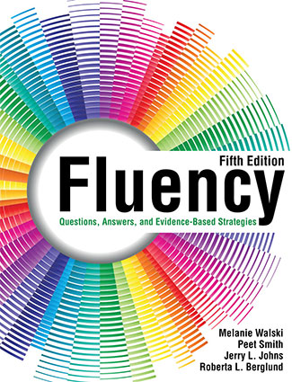 "Book cover of ""Fluency: Questions, Answers, and Evidence-Based Strategies."""