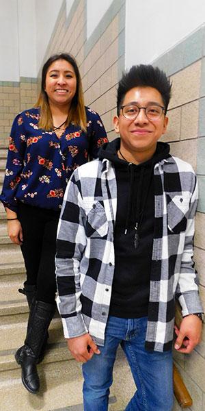 Morelia Garcia and Bryan Garcia Belmonte