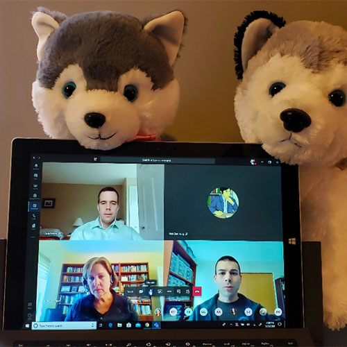 Microsoft Teams: Meeting from Home