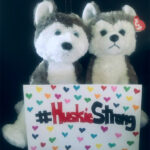"Danae Miesbauer's ""coworkers"" help to remind her that ""Huskies Never Quit"" and to stay #HuskieStrong!"