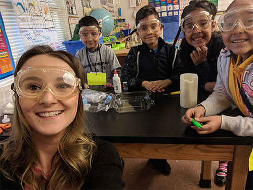 Katie Pasternak taught in Houston during the January 2019 Educate U.S. trip.