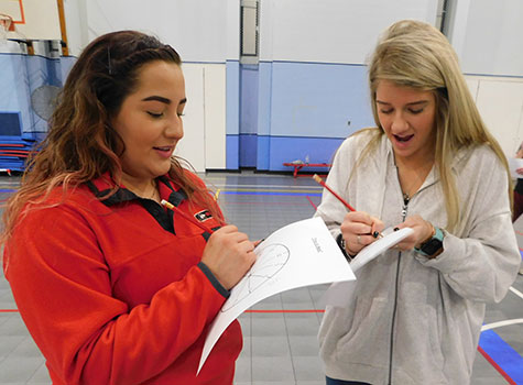 "The ""Time to Meet"" activity required students to make – and keep – appointments."