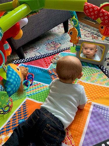 Robin Miller-Young's grandson, Cooper Ball, age 3 months
