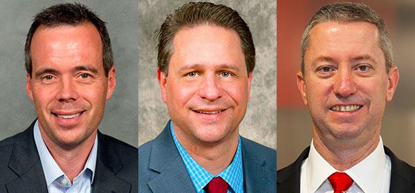 Todd Gilson, David Walker and Chad McEvoy