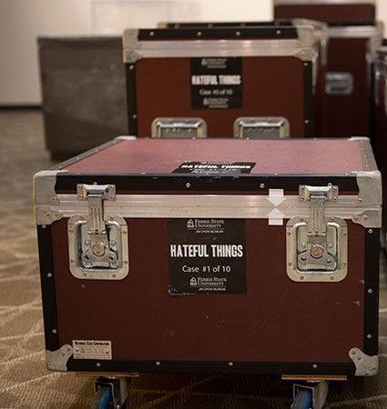 Hateful Things crates