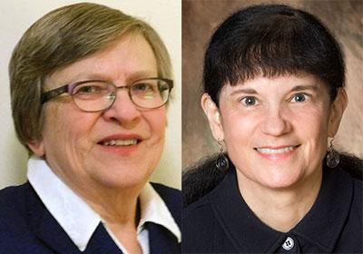 Pamela Farris and Susan L'Allier