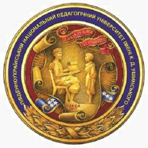 Logo of Ushynsky University