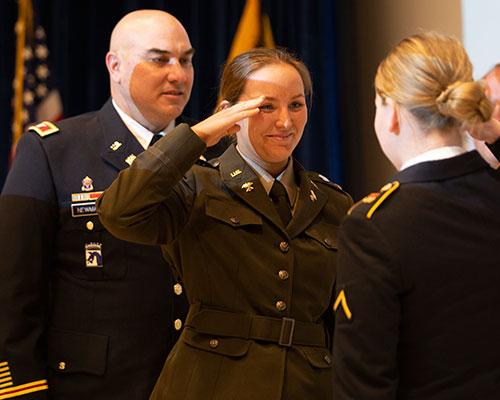 Col. Gerald Newman and Abigail Newman